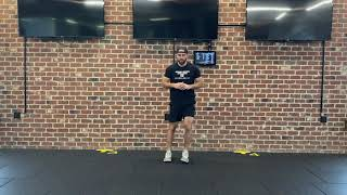 Bodyweight Lateral Lunge