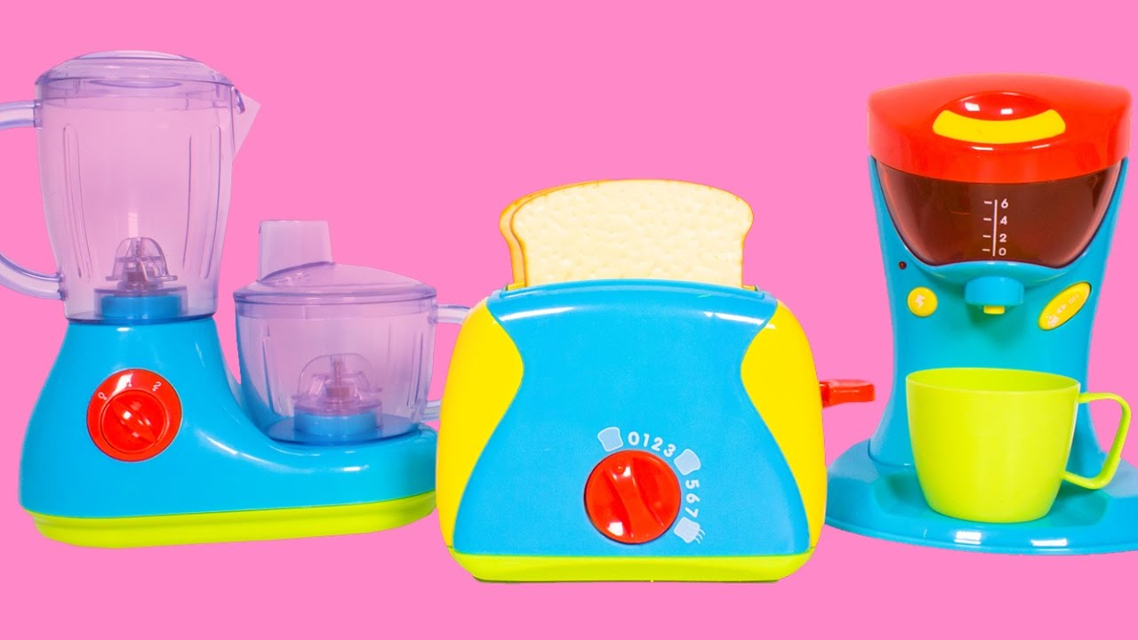 Toy Kitchen Set For Kids Cooking Playset Toy Review Play Doh
