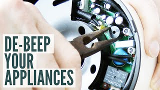 De-beep Your Appliances: removing a piezo buzzer from a kettle