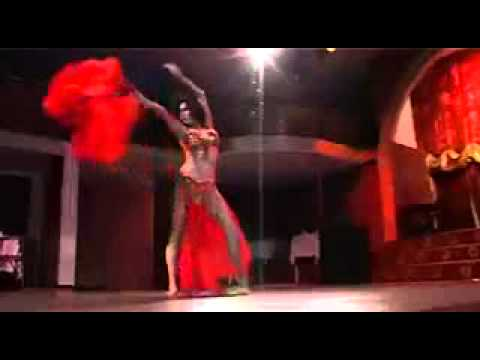 Belly Dance With Acrobat