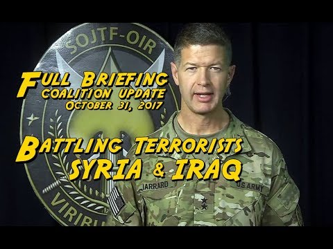 BATTLE For IRAQ/SYRIA: Special Operations JTF Commander in Kuwait Updates Pentagon Press.