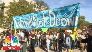 Watch: Climate Change Marches Across The Globe | NBC News Now