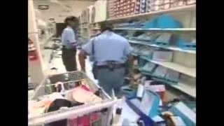Looting after Hurricane Katrina