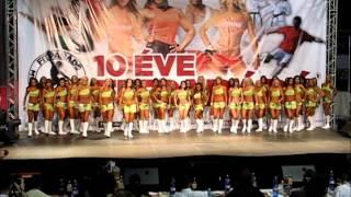 Fitparádé 2012 - Fitness Modell bevonulás