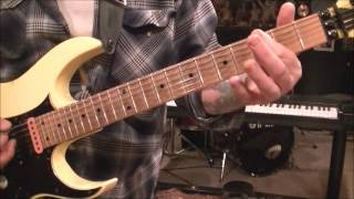 How to play Rebel Yell by Billy Idol on guitar by Mike Gross