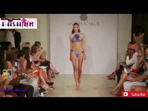 Sinesia Karol Swimwear Show   Miami Swim Fashion Week Summer 2015   Bikini Models