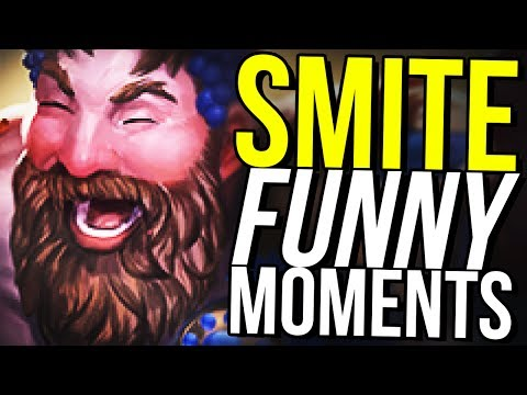 WHO IS THIS MAN?! (Smite Funny Moments)