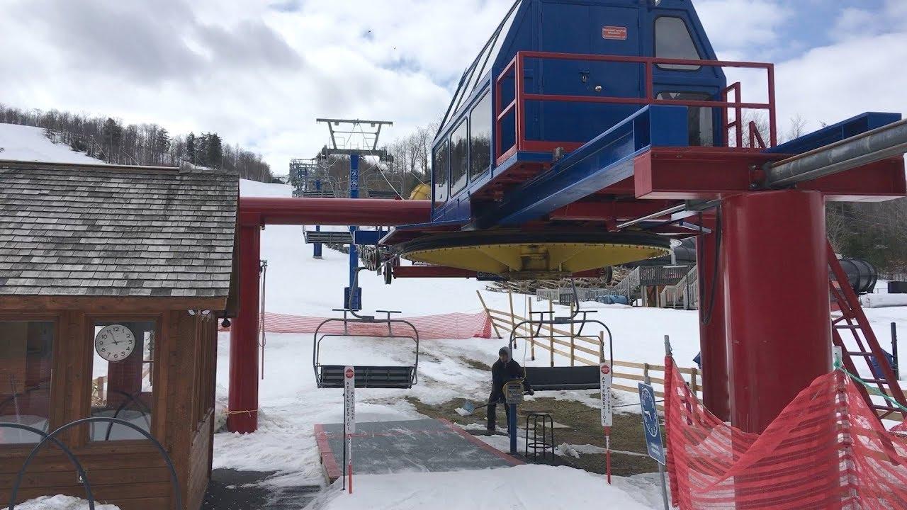 Promenade Quad - Mont Cascades / Doppelmayr CTEC Quad Chairlift