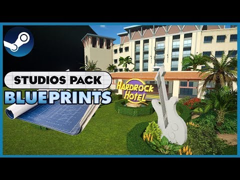 Blueprint Spotlight 21: STUDIOS Pack DLC! #PlanetCoaster