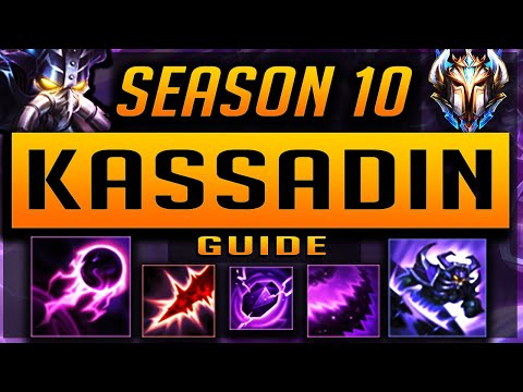 [OP TIER] KASSADIN GUIDE SEASON 9 (2019) ULTIMATE GUIDE [BEST RUNES, ITEMS, GAMEPLAY, COMBO] | Zoose