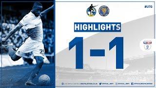 Match Highlights: Bristol Rovers 1-1 Shrewsbury Town