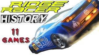 Ridge Racer History   All Games Collection HD