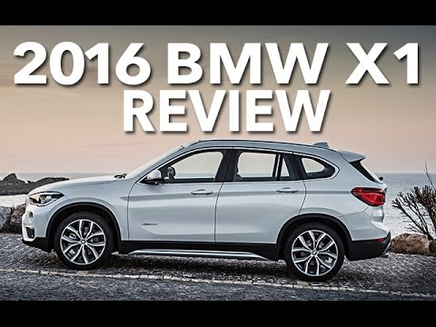 Crossover 2016 BMW X1 Review and Full Road Test Drive