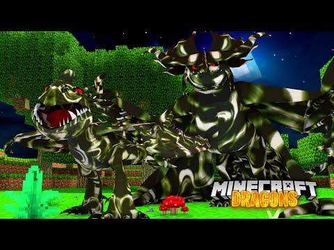 ZOMBIE Dragon DISEASE!  - Minecraft Dragons