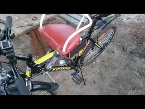 Детское велокресло 2