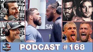 WEIGHING IN #168   PITBULL VS MCKEE   STRICKLAND VS HALL   FAN QUESTIONS