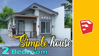 Simple Small House 46 Sqm.