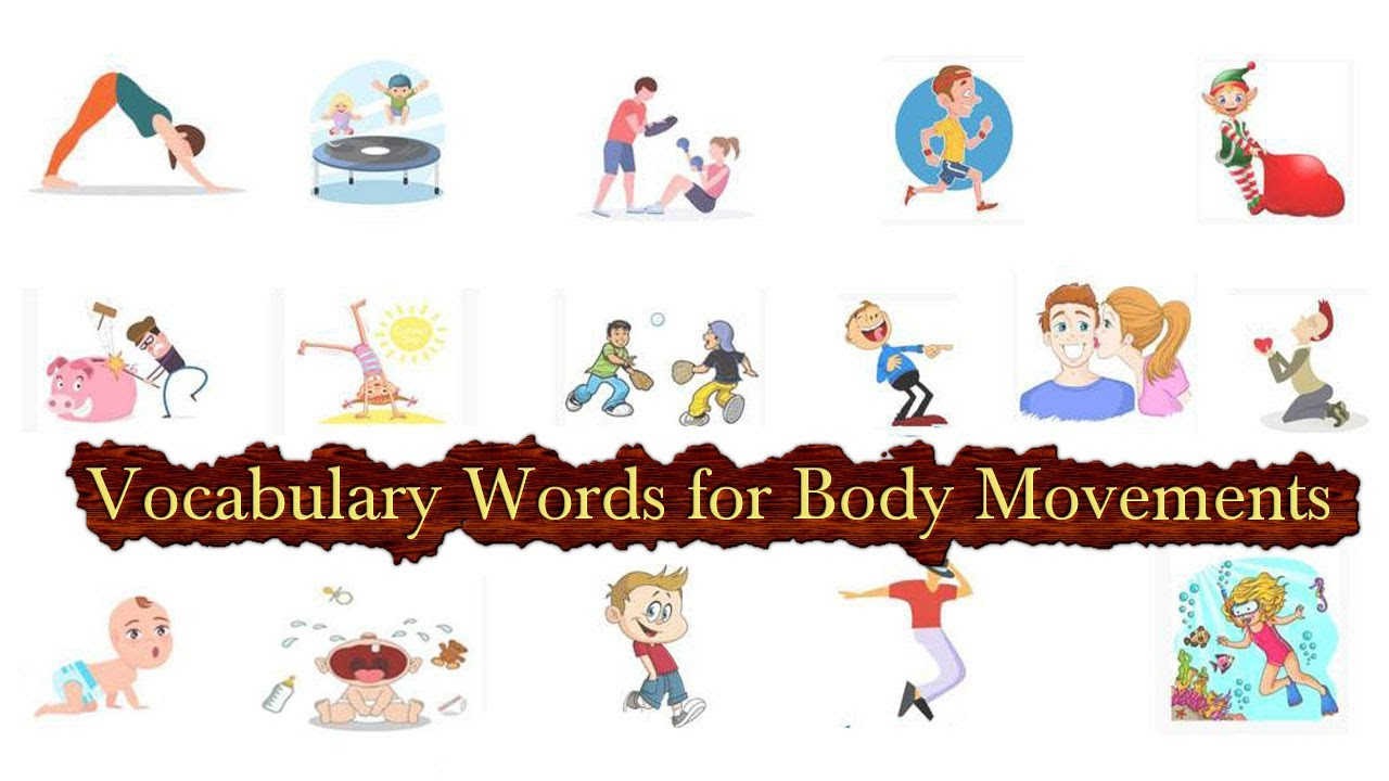Vocabulary Words For Body Movements