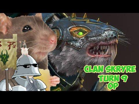 Making Clan Skryre OP by TURN 9!  