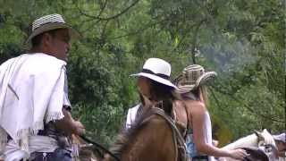 horse riding Cordoba. tourism Quindio Colombia,beautiful landscapes and women 27.m2ts