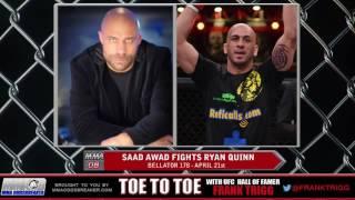 Frank Trigg Interviews Bellator 178's Saad Awad