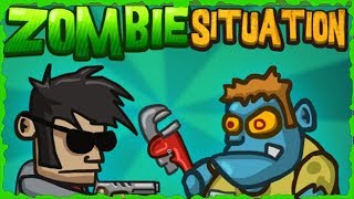 Zombie Situation Full Game Walkthrough All Levels