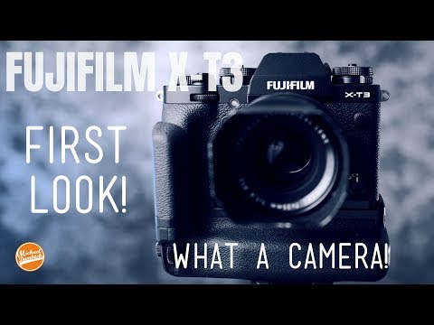Hands on Fujifilm X-T3 review First look and thoughts: CRAZY! from YouTube · Duration:  17 minutes 32 seconds