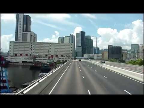[Hong Kong Bus Ride] 九巴 AV418 @ 219X 麗港城 - 尖沙咀 [循環綫][全程行車影片]