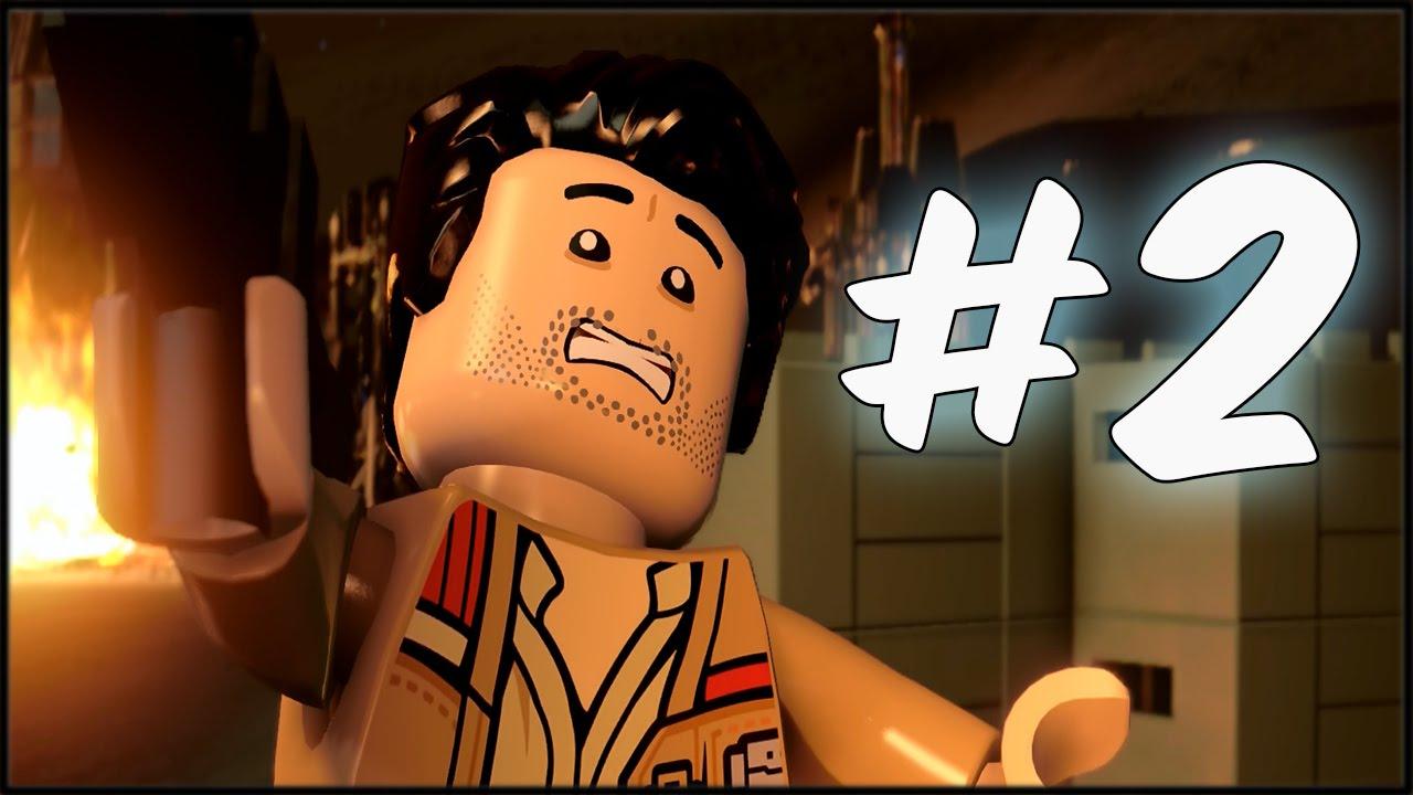 Zagrajmy W Lego Star Wars Przebudzenie Mocy Odc2 Szturm Na Jakku