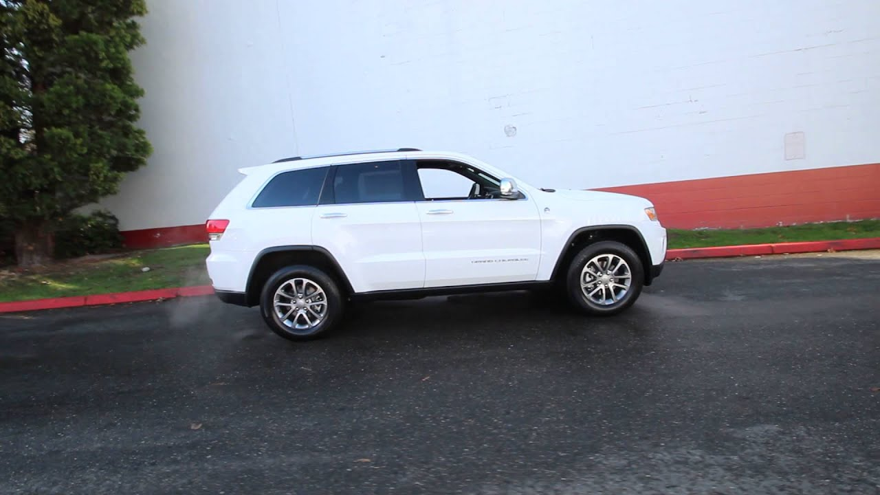 2016 jeep grand cherokee limited bright white clearcoat fc196756 redmond seattle youtube. Black Bedroom Furniture Sets. Home Design Ideas