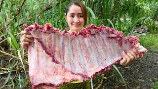 Yummy Beef Ribs Sour Soup Recipe - Beef Ribs Cooking - Cooking With Sros