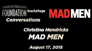 Conversations with Christina Hendricks of MAD MEN