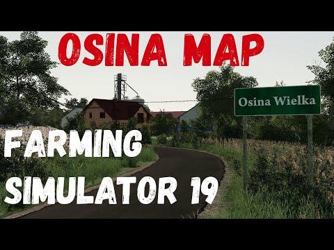 """И почему так красиво """"Osina Map""""  (Farming Simulator 19) #Посмотрим"""