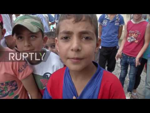 Syria: Russian aid arrives in Latakia after local govt. sign peace agreement