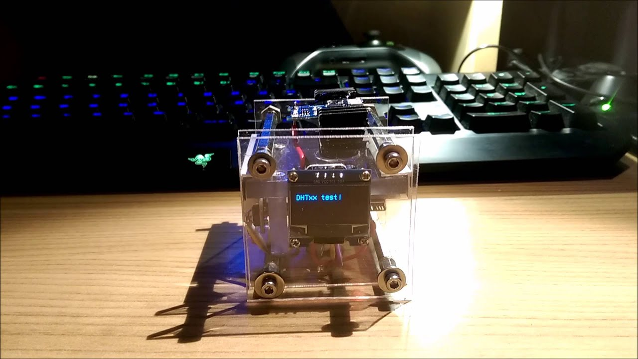 Diy project with arduino nano humidity temperature