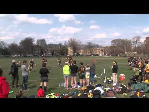 Ali's Rugby Flashmob Proposal