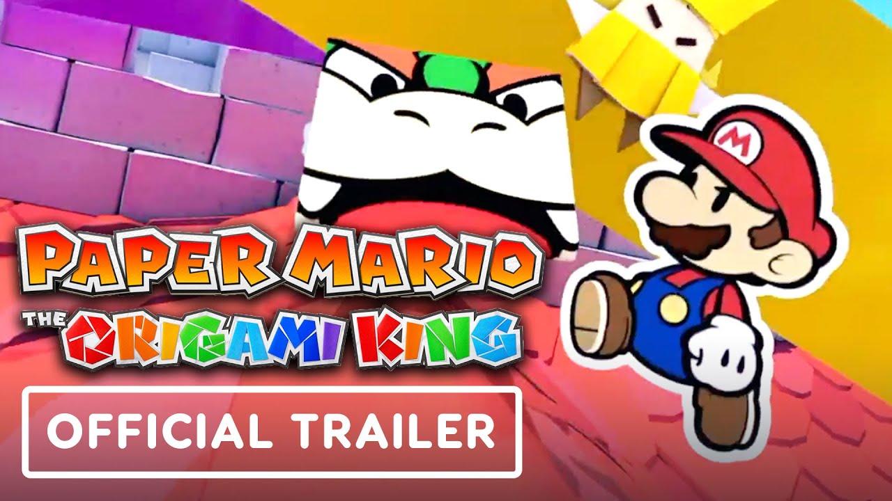 Paper Mario: The Origami King - Trailer oficial de anuncios + vídeo