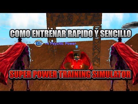 Super Power Training Simulator, Como Subir Psychic Rapi ...