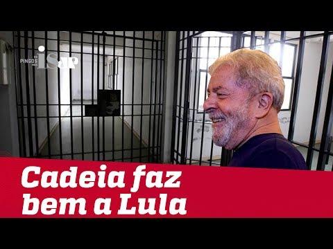 A cadeia faz bem a Lula