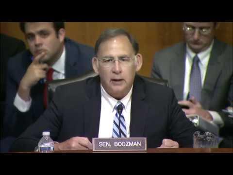 Arkansas Game & Fish Commission Director Testifies Before Boozman & EPW Committee