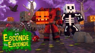 Minecraft: ESPECIAL HALLOWEEN! (Esconde-Esconde)