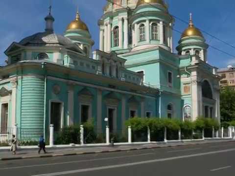 Архиерейская Литургия в Елоховском Богоявленском соборе 27 августа 1989 года.