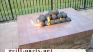 Alternative Gas Log Fireplace Designs.