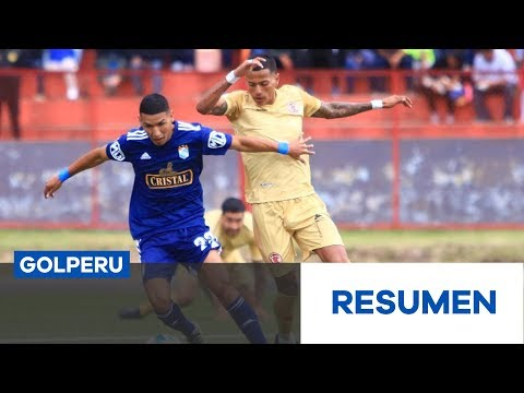 Cajamarca Sporting Cristal Goals And Highlights