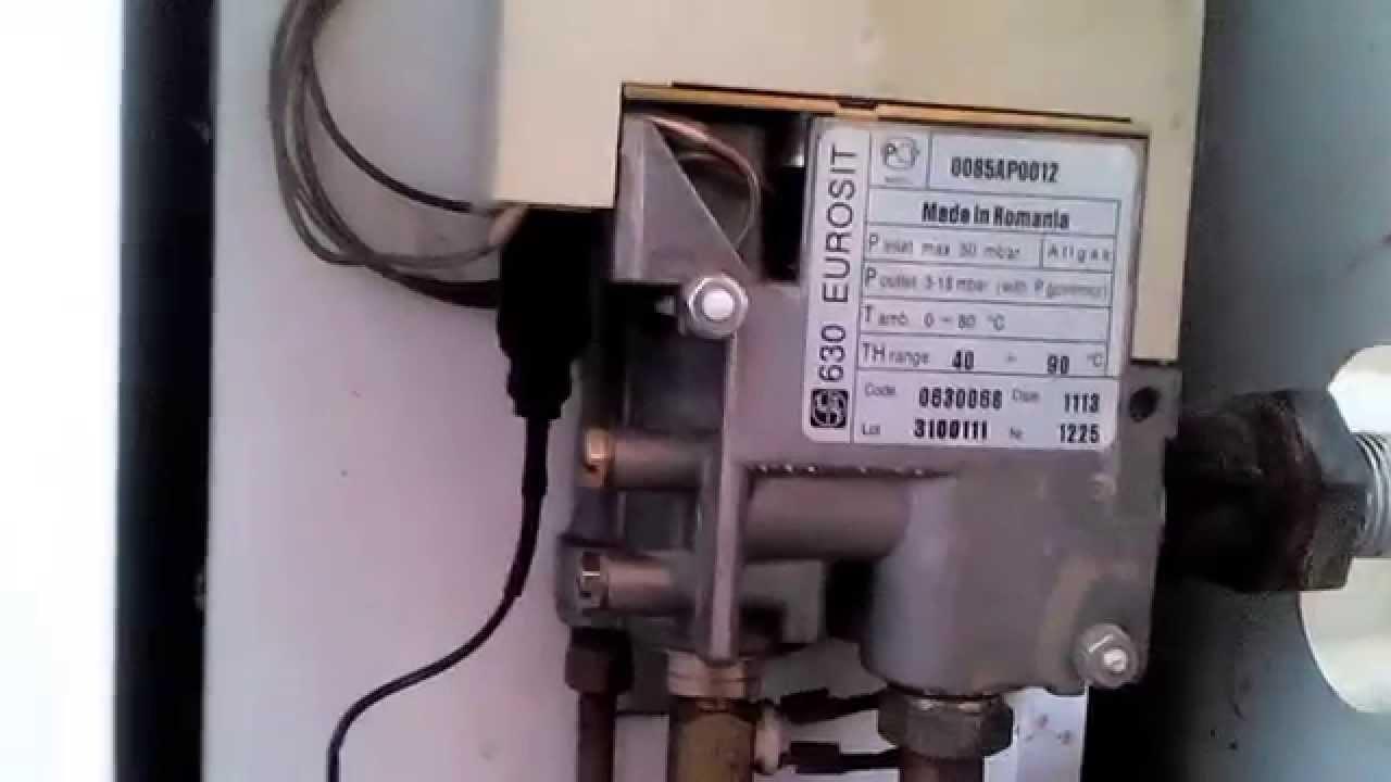 газ котёл запальник евросит630