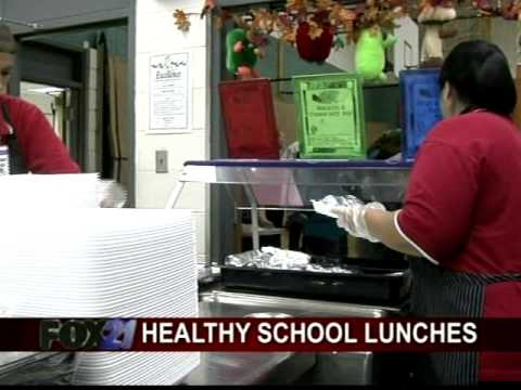 District 11 lunch menu changes