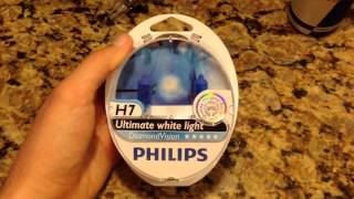 Philips Diamond Vision 5000K Review and Unboxing