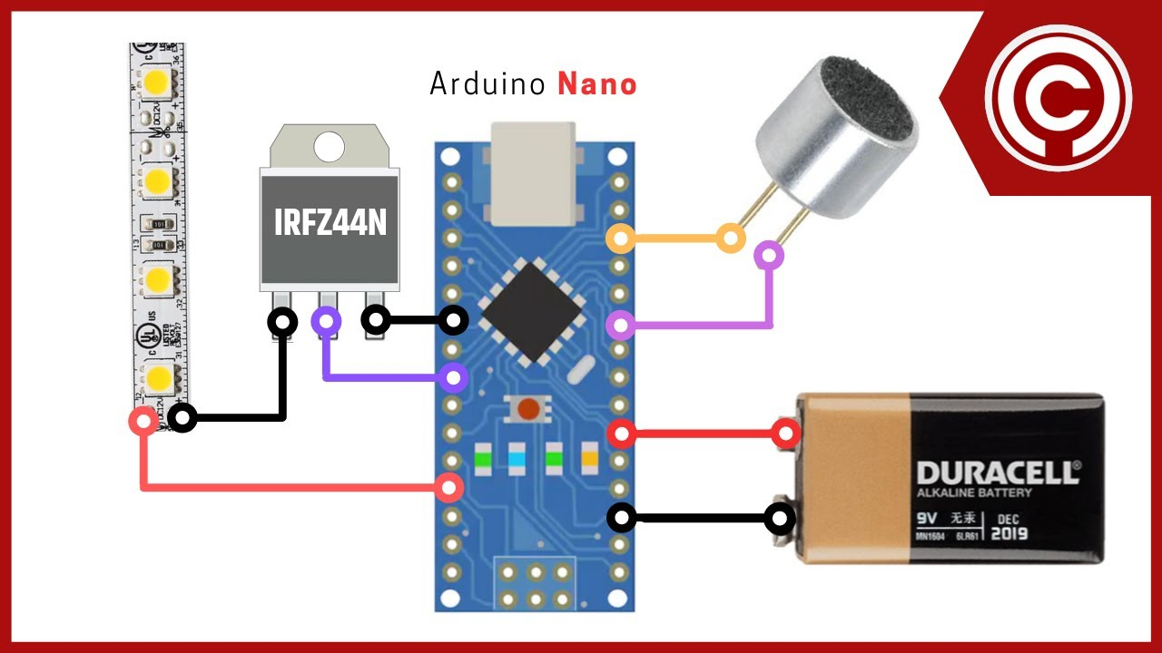 Arduino Music Reactive Led Strip