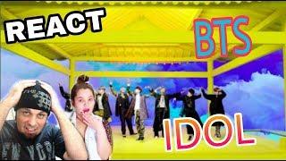 Baixar REAGINDO: BTS (방탄소년단) - IDOL (REACT K-POP)