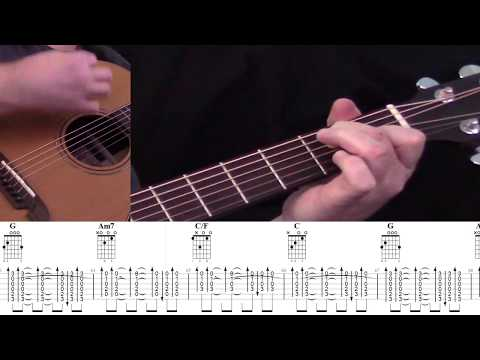 Five For Fighting Superman (It's Not Easy) Acoustic Guitar Tab With On-screen Performance.